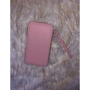 Handbags - Baby Pink Phone Wristlet